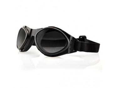 bobster Мотоочки Bobster Bugeye Smoked Reflective Lens Black