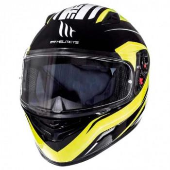 Мотошлем MT Mugello Maker Black-Fluo Yellow M