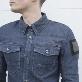 фото 5 Мотокуртки Рубашка Revit Hudson Light Blue S