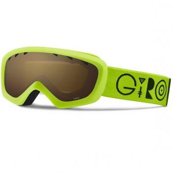 фото 1 Горнолыжные и сноубордические маски Горнолыжная маска Giro Chico Lime-Black Amber Rose