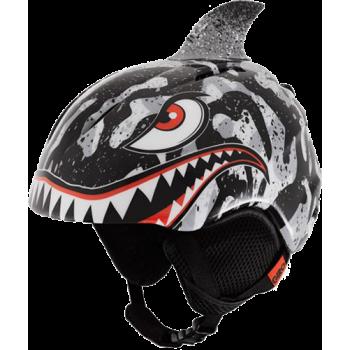 фото 1 Горнолыжные и сноубордические шлемы Горнолыжный шлем Giro Launch Plus Black-Grey Tiger Shark S (52-55.5см)