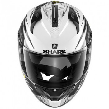 Мотошлем Shark Ridill Finks Black-White-Yellow S