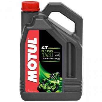 Моторное масло Motul 5100 4T 10W30 (4L)