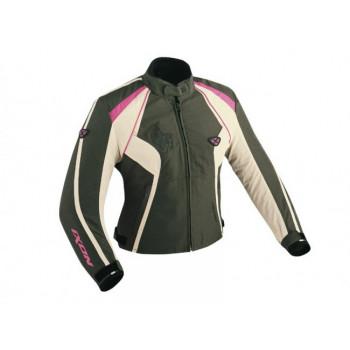 Мотокуртка Ixon CAPRICIOUS (E4306F) Black-Pink-White XS