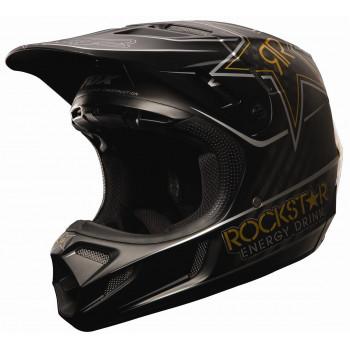 Мотошлем FOX V4 Rockstar Black XL