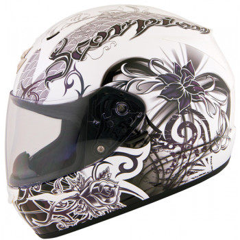 Мотошлем SCORPION EXO-410 AIR Orchid White Pearl XS