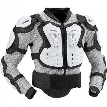 Моточерепаха FOX Titan Sport Jacket White 2XL