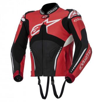 Мотокуртка Alpinestars ATEM кожа Red-Black-White 48