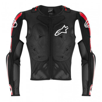 Моточерепаха Alpinestars BIONIC PRO Black-Red-White L