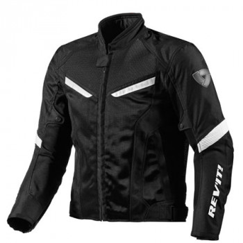 Мотокуртка REVIT GT-R AIR текстиль Black-White M