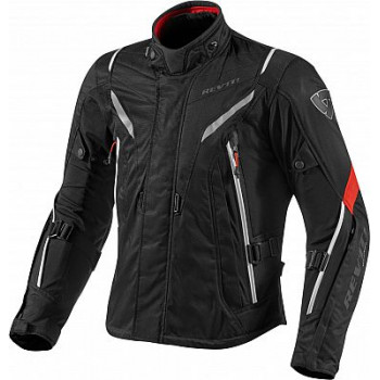 Мотокуртка REVIT VAPORтекстиль Black-Red XL