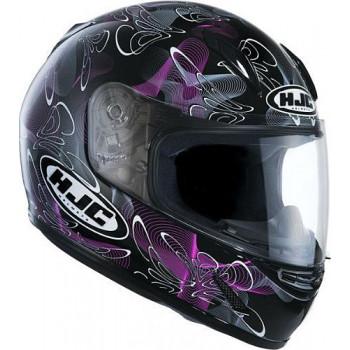 Мотошлем детский HJC CLY TABLEAU MC8 Black-Purple M