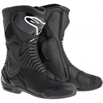 Мотоботы Alpinestars S-MX 6 Black Vented 37