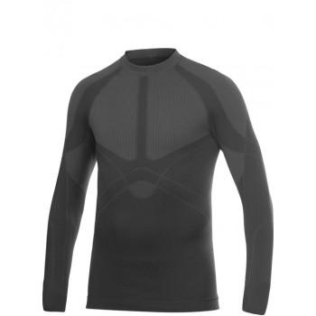 Термофутболка мужская Craft Warm CN LS M Black-Iron S (2014)