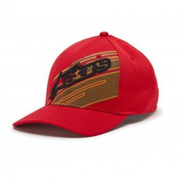 Кепка Alpinestars Starks Curved Red L-XL