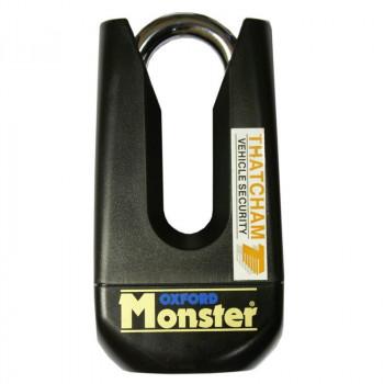 Замок на диск Oxford Monster Black