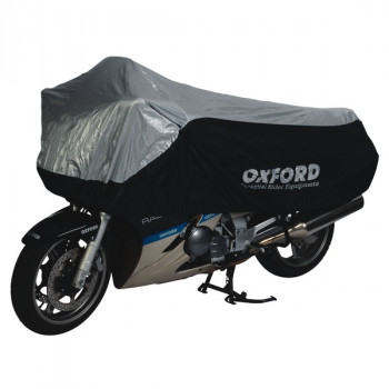 Моточехол Oxford Umbratex Black-Silver XL