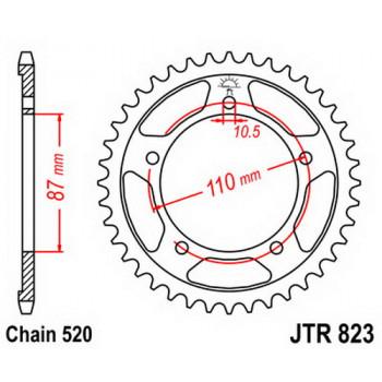 Звезда задняя JT Sprockets JTR823.46