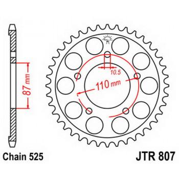 Звезда задняя JT Sprockets JTR807.46
