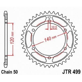 Звезда задняя JT Sprockets JTR499.38