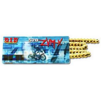 Приводная цепь DID 520ZVM-X GG - 116ZB Gold