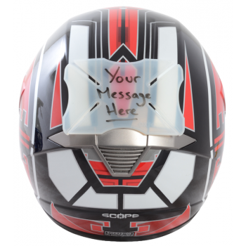 Бампер на шлем Oxford Message
