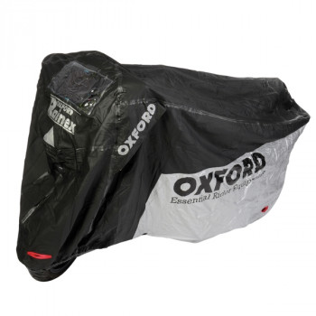 Моточехол Oxford Rainex Black-Silver L