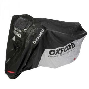 Моточехол Oxford Rainex Black-Silver M