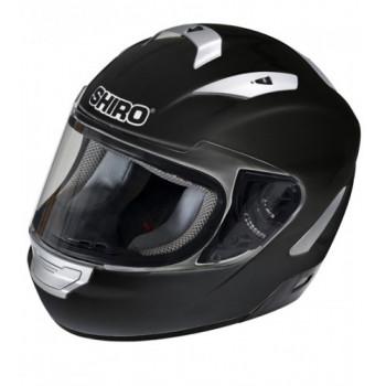 Мотошлем Shiro SH-7000 Monocolor Black M