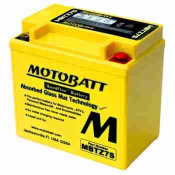 фото 1 Аккумуляторы для мотоциклов Аккумулятор гелевый MB MBTZ7S