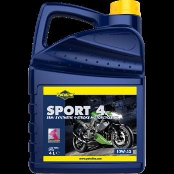 Масло моторное Putoline Oil Technomoto Sport 4 10W-40 4l