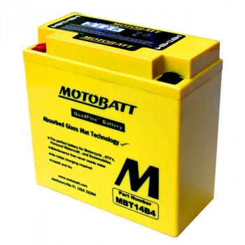 Аккумулятор гелевый Motobatt MBT14B4 13Ah 175A
