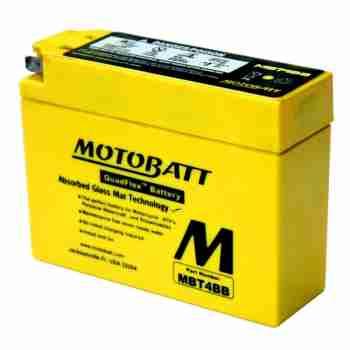 фото 1 Аккумуляторы для мотоциклов Аккумулятор гелевый Motobatt MBT4BB 2,5Ah 40A