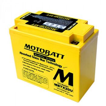 Аккумулятор гелевый Motobatt MBTX20U 21Ah 310A
