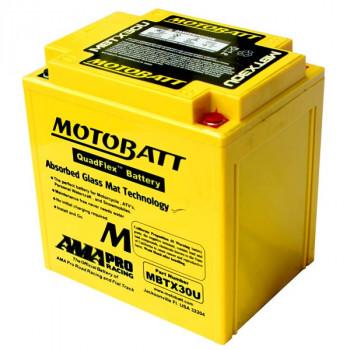 Аккумулятор гелевый Motobatt MBTX30U 32Ah 380A