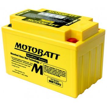 Аккумулятор гелевый Motobatt MBTX9U 10,5Ah 160A