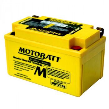 Аккумулятор гелевый Motobatt MBTZ10S 8,6Ah 140A
