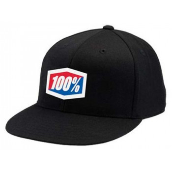 Кепка 100% ICON 210 Fitted Black S/M