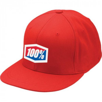 Кепка 100% ICON 210 Fitted Red L/XL