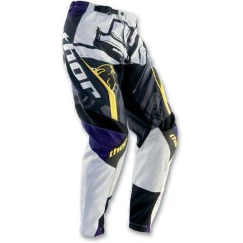 Кроссовые штаны Thor S12 Phase Slab Black-White 32