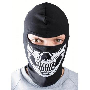 Балаклава зимняя DF White Skull