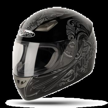 Мотошлем Nitro Moko Black-Silver M