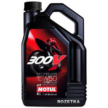Моторное масло Motul 300V 4T Factory Line 15W-50(1L)