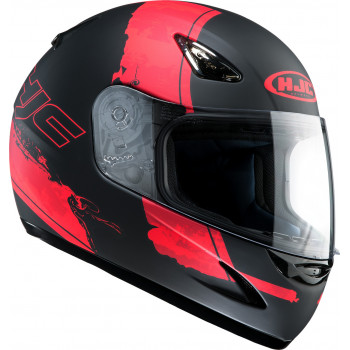 Мотошлем HJC CS14 PASO MC1F Black-Red  L