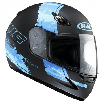 Мотошлем HJC CS14 PASO MC2F Black-Blue  M