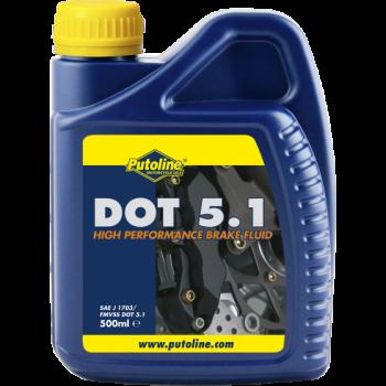 Тормозная жидкость Putoline Oil DOT 5.1 500ml