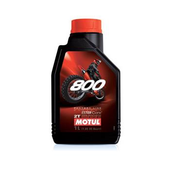 фото 1 Моторные масла и химия Моторное масло Motul 800 2T Factory Line Off Road (1L)