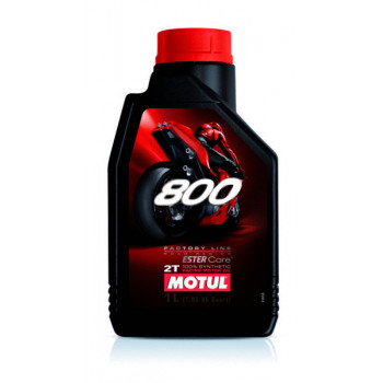 Моторное масло Motul 800 2T Factory Line Road Racing(1L)