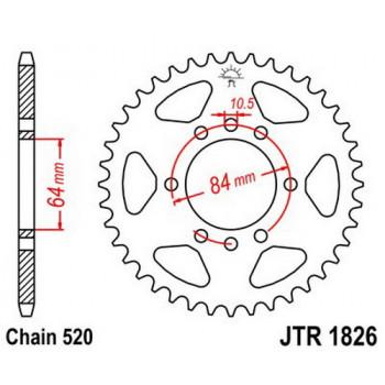 Звезда задняя JT Sprockets JTR1826.44