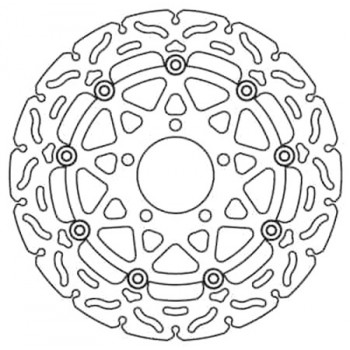 Тормозной диск Lucas MSW241RAC